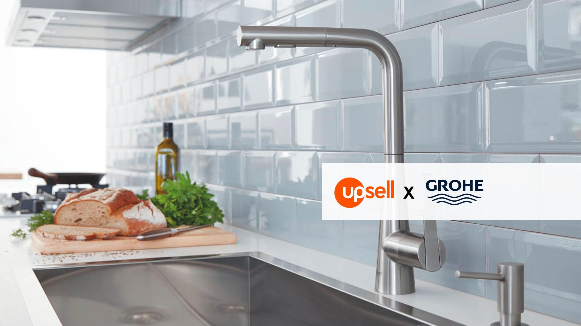 Chef de Secteur (H/F) en Ile de France pour la marque Grohe en CDI - Upsell